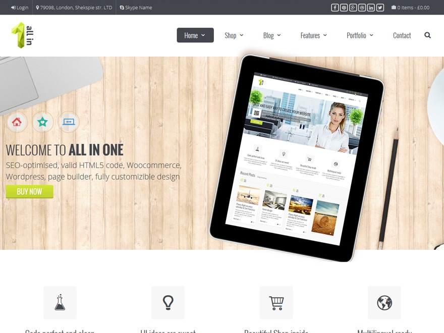 JV Allinone WordPress store theme