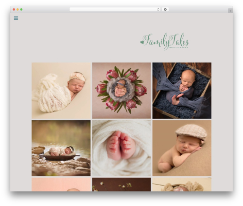 Make template WordPress free - familytalesphotography.com
