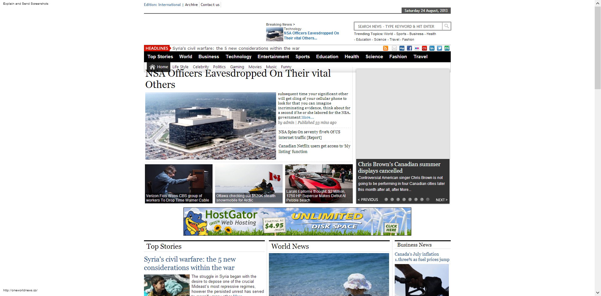 Online News Portal WordPress news theme