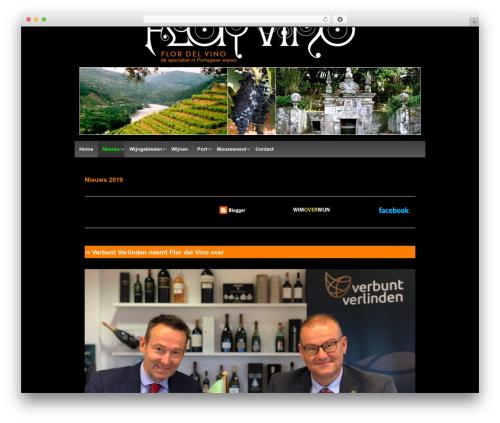 Responsive WordPress theme download - flordelvino.nl/wijn-uit-portugal