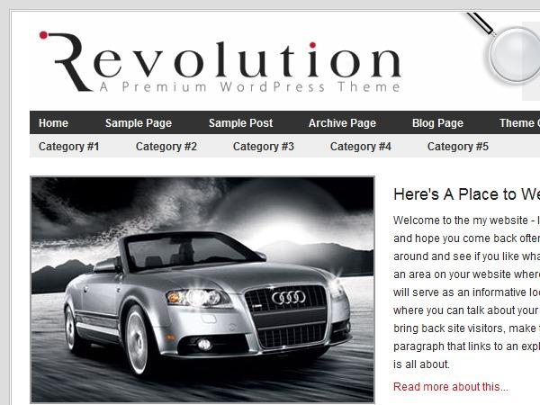 Revolution premium WordPress theme