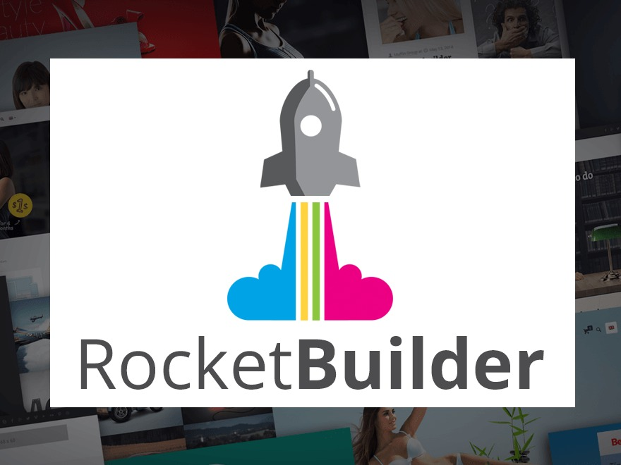 Rocket Builder WP template