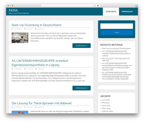 Schema Lite WordPress free download - faisa.de