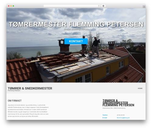 SKT White WordPress template - fpbyg.dk