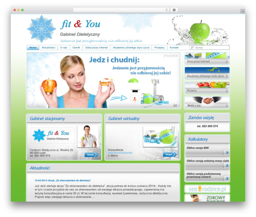 Twenty Eleven WordPress theme - fitandyou.com