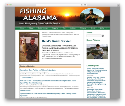 Free WordPress Lazyest Gallery plugin - fishingalabama.com