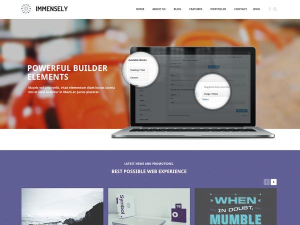 WordPress template FP&C