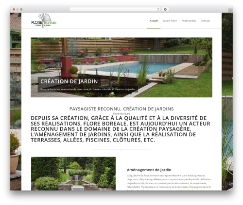 WordPress theme Enfold - floreboreale.fr