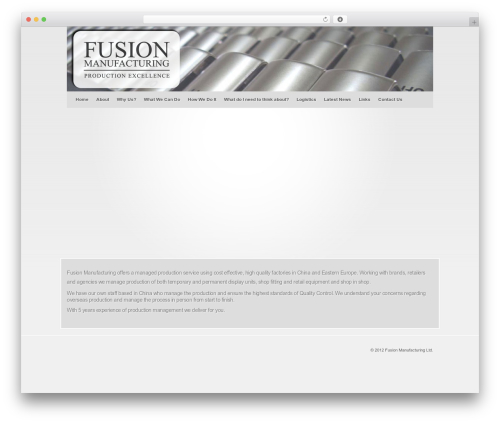 WP template Fusion - fusionmanufacturing.co.uk