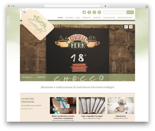 Yasmin WordPress theme design - fairyeco.com