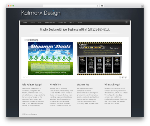 Alyeska business WordPress theme - kalmarxdesign.com