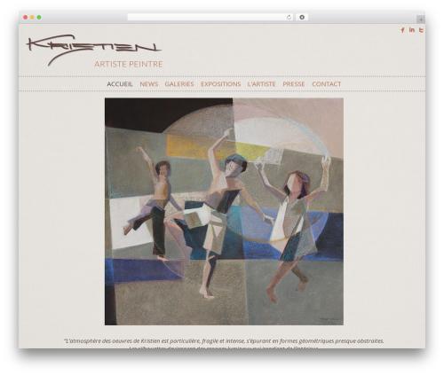Kristien Sierro Ult best WordPress theme - kristien-sierro.ch