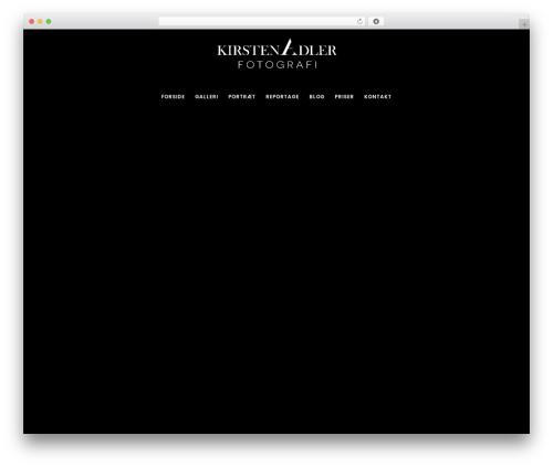 Movedo theme WordPress - kirstenadler.dk