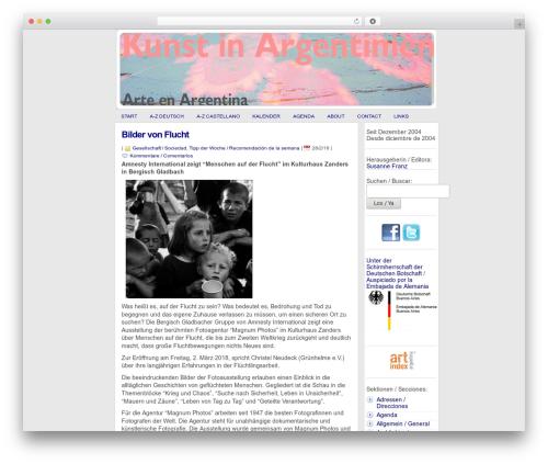 statement WordPress template free download - kunstinargentinien.com