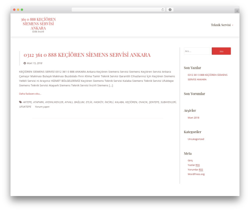 Template WordPress LawyeriaX Lite - keciorensiemensservisi.net
