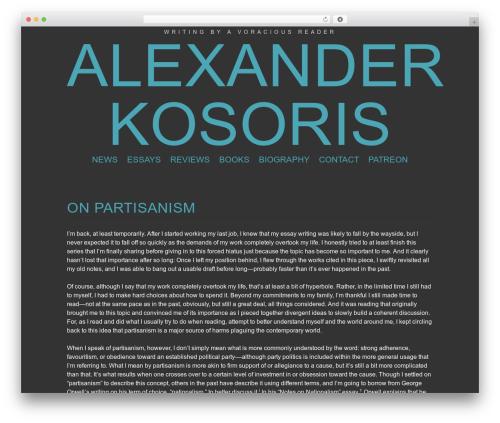 Theme WordPress Trvl - kosoris.com