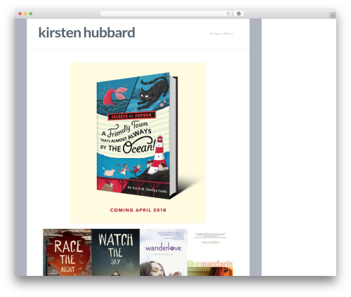 X best WordPress theme - kirstenhubbard.com