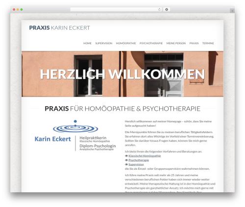 Best WordPress theme SmartBox Child Theme - karin-eckert.de