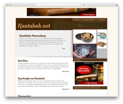 Delicate News WordPress news theme - kautabak.net