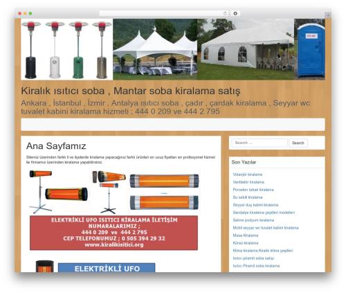 LineDay best free WordPress theme - kiralikisitici.org