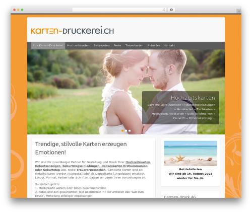 Free WordPress WP Slider Plugin plugin - karten-druckerei.ch
