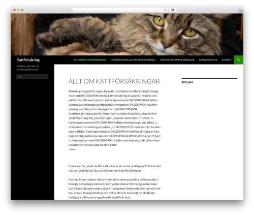 Twenty Fourteen best free WordPress theme - kattforsakring.eu