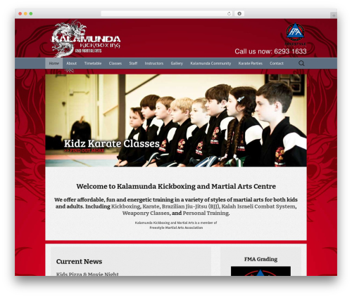 Twenty Thirteen Child WP template - kalamundakickboxing.com.au