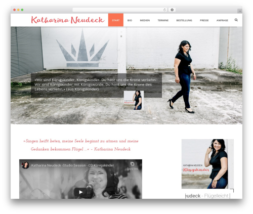 Template WordPress Jupiter - katharinaneudeck.de