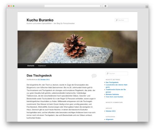 Template WordPress Twenty Eleven - kuchu-buranko.com