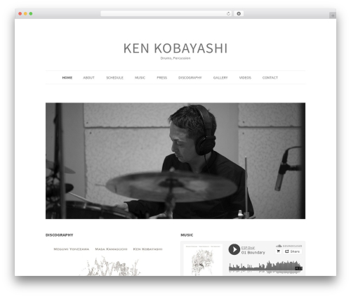 Theme WordPress BadJohnny - kenkobayashi.net
