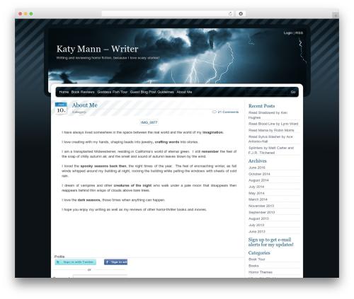 Theme WordPress BlueMoD - katymann.com