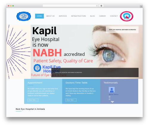 Free WordPress WordPress Picture / Portfolio / Media Gallery plugin - kapileyehospital.com