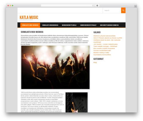WordPress template Koenda - katlamusic.com
