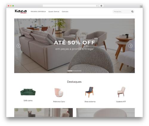 WordPress theme Flatsome - kazad.com.br