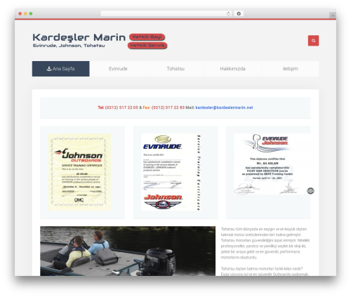 WordPress theme Unity - kardeslermarin.net
