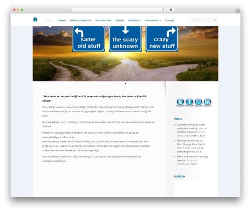 LeanBiz best WordPress theme - koerscoaching.nl