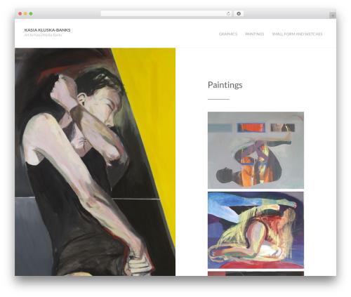 Photolog template WordPress free - kasiakluska.com