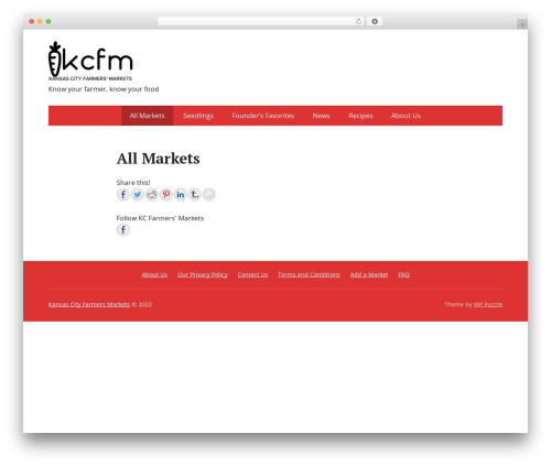 Theme WordPress Basic - kcfarmersmarkets.org
