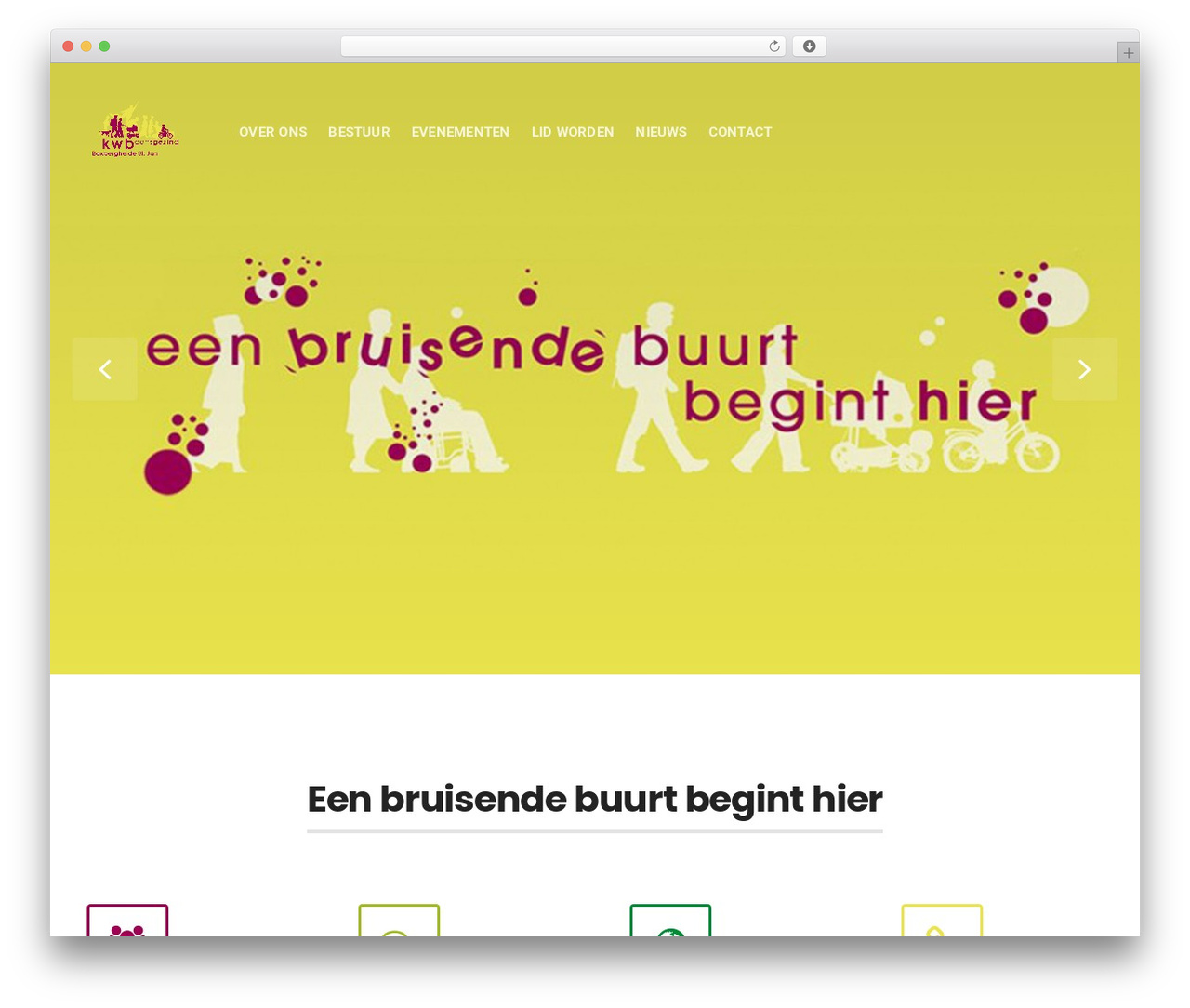 Businessx WordPress theme - kwbboxbergheide.be