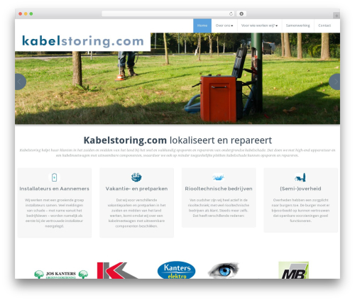 BusiProf Pro WordPress theme design - kabelstoring.com