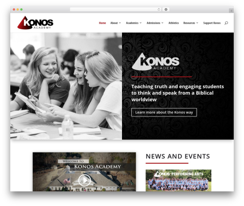 Free WordPress Seamless Donations plugin - konos.org