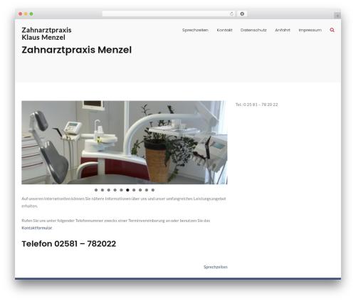 MedZone Lite theme WordPress free - klaus-menzel.de