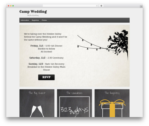 Template WordPress Responsive - knot.threadsandloops.com