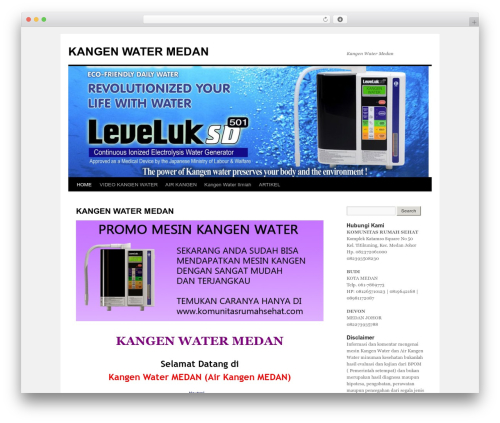 Twenty Ten WordPress theme - kangenwatermedan.com