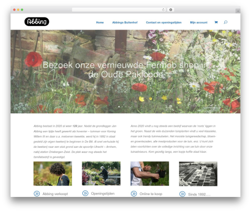 WordPress theme Abbing - kwekerijabbing.nl
