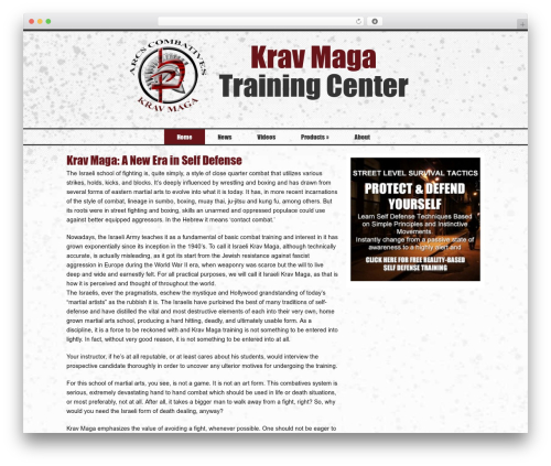 WP template Catalyst - kravmagatc.com