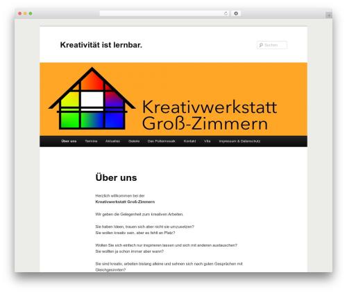 WP template Twenty Eleven - kreativwerkstatt-gross-zimmern.de