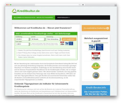 Yume Tan WP template - kreditkultur.de