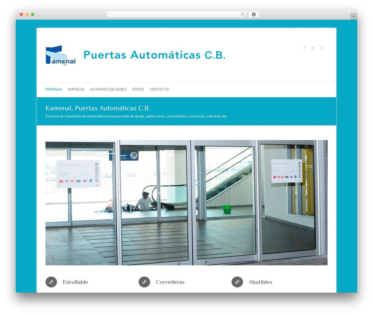Attitude theme WordPress free - kamenal.es