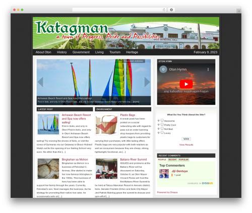 Church Child Theme WordPress theme - katagman.com